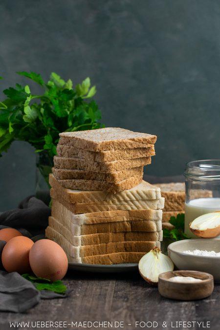 Wenige Zutaten für Semmelknödel aus Toastbrot selbstgemacht schwäbisches Rezept