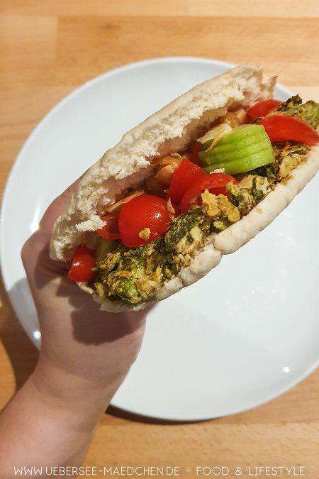 Pfannen-Falafel nach Jamie Oliver Veggies Kochbuch