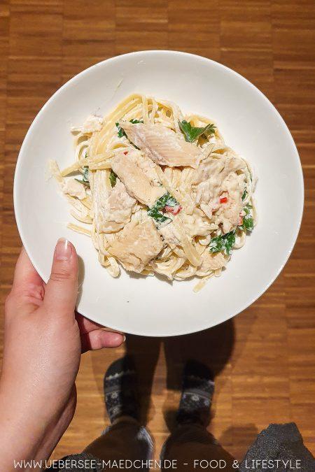 Pasta mit kalter Ricotta-Sauce nach Donna Hay