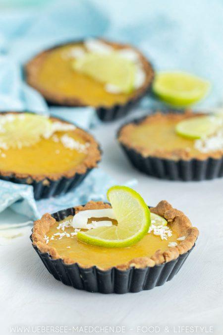 Limetten-Tartelettes mit Kokos Rezept von ÜberSee-Mädchen Foodblog vom Bodensee
