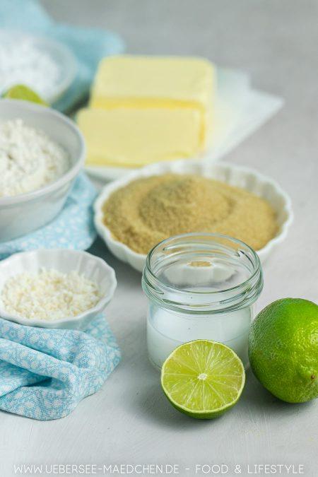 Zutaten für Limetten-Tartelettes Rezept