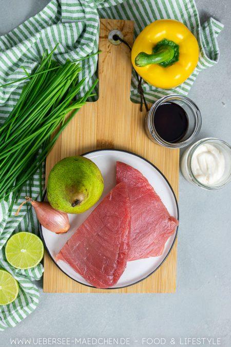 Zutaten für Thunfischtatar besonders lecker Rezept