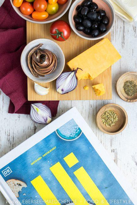 Kochbuch Ui Rezension mit Rezept für Blätterteigtarte