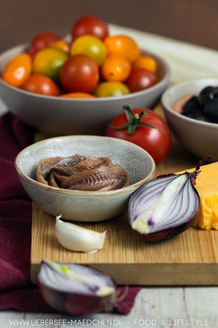 Sardellen machen Blätterteigtarte super lecker würzig