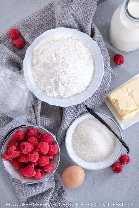 Alle Zutaten für Panna Cotta als Kuchen