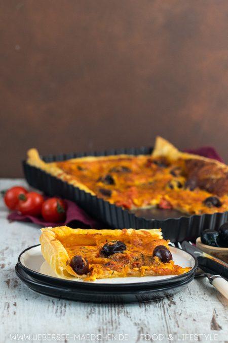 Rezept für Mediterrane Blätterteigtarte aus dem Kochbuch Ui