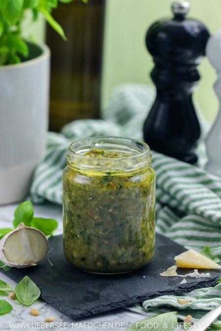 Grünes Pesto genovese selbstgemacht Rezept von ÜberSee-Mädchen Foodblog vom Bodensee