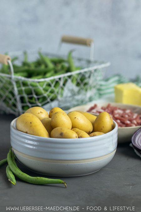 Kartoffeln für Kartoffel-Bohnen-Pfanne Rezept