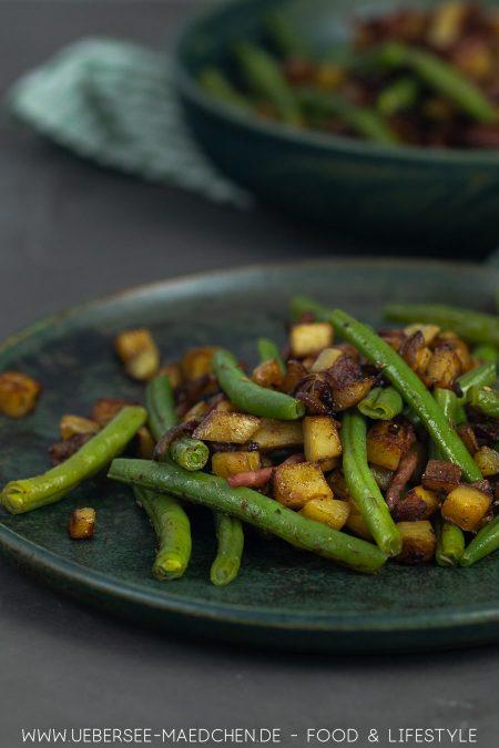 Kartoffel-Bohnen-Pfanne ist das ideale Feierabendgericht Rezept von ÜberSee-Mädchen Foodblog vom Bodensee