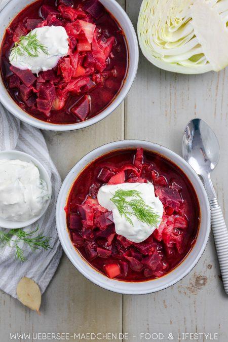 Rote-Bete-Eintopf vegetarisch mit Kohl und Kartoffeln Rezept von ÜberSee-Mädchen Foodblog vom Bodensee