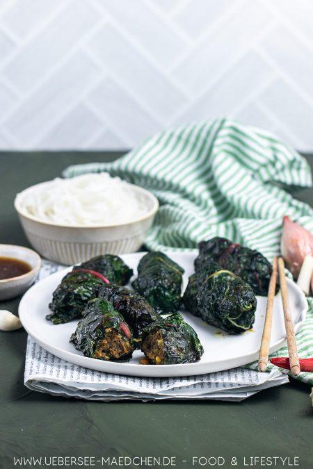 Mangold-Päckchen-mit-vietnamesischem-Hackfleisch-Rezept-von-ÜberSee-Mädchen-Foodblog